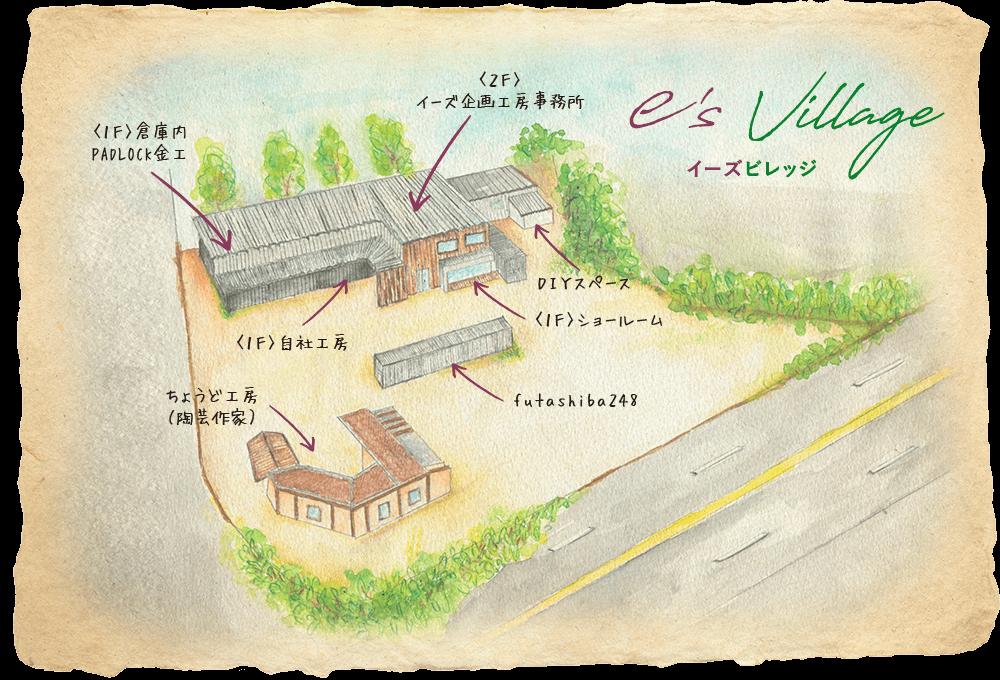 e's VILLAGE|私たちのこと|株式会社イーズ企画工房